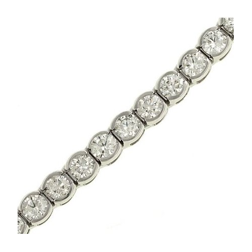Bezel-set Diamond Bracelet from Amazon.com