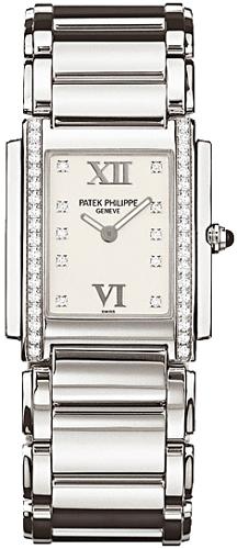Patek Philippe Twenty-4 in Steel with Diamonds