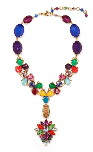 Erickson Beamon Color Collection Necklace from Bauble bar
