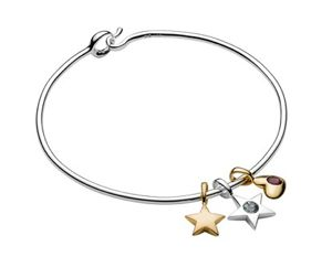 Luna and Stella Birthstone Bracelet