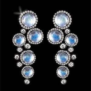 Colette Draco Moonstone Earrings