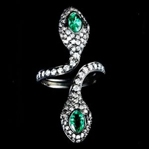 Colette Snake Taipan Ring