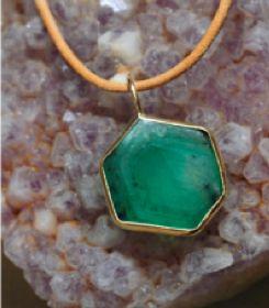 Aroc Urtu Emerald Necklace