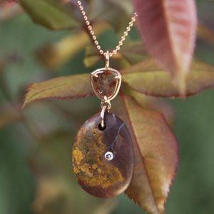 Aroc Urtu Beach Stone Necklace