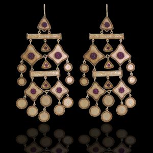 Jacob & Co. Earrings Auctioned at Nomad's Way Charity Gala