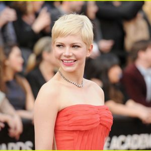 Michelle Williams at 2012 Oscars