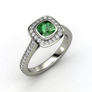 Gemvara Emerald and Diamond ring