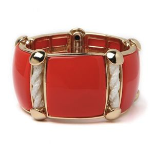 Bauble Bar Coral Bracelet