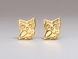 Gorjana Owl Earrings