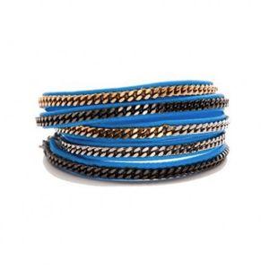 Shawn Warren Blue Wrap Bracelet