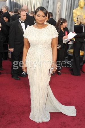 Octavia Spencer Neil Lane Oscars 2012
