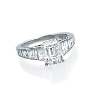 Daniel K Emerald Cut Ring