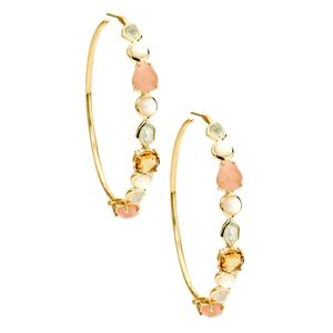 Ippolita Modern Rock Candy Hoop Earrings