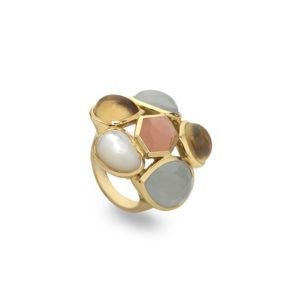 Ippolita Modern Rock Candy Ring in Silk Road