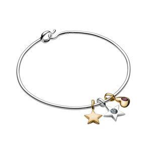 Luna & Stella birthstone charm bracelet