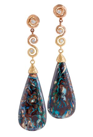 Pamela Froman Ombre Mommy Earrings