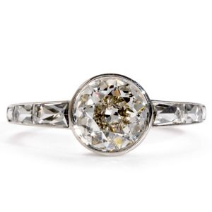 Single Stone Ring from Greenwich Jewelers