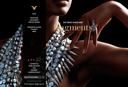 Fragments.com Home Page