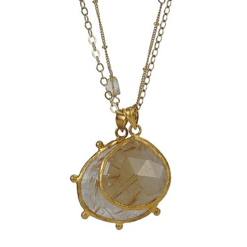 Coralia Leets Mother and Daughter pendant
