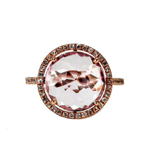 Kalan 14kt Rose de France Ring
