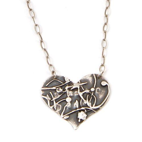 Jivita Harris-Casey Heart Necklace