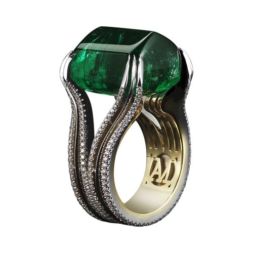 Alexandra Mor Emerald Ring