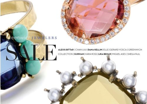 Greenwich Jewelers Annual Winter Sale