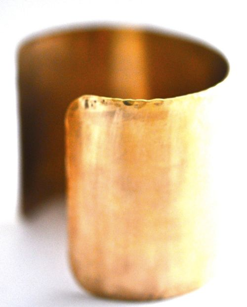 Lost Wax Brass Cuff