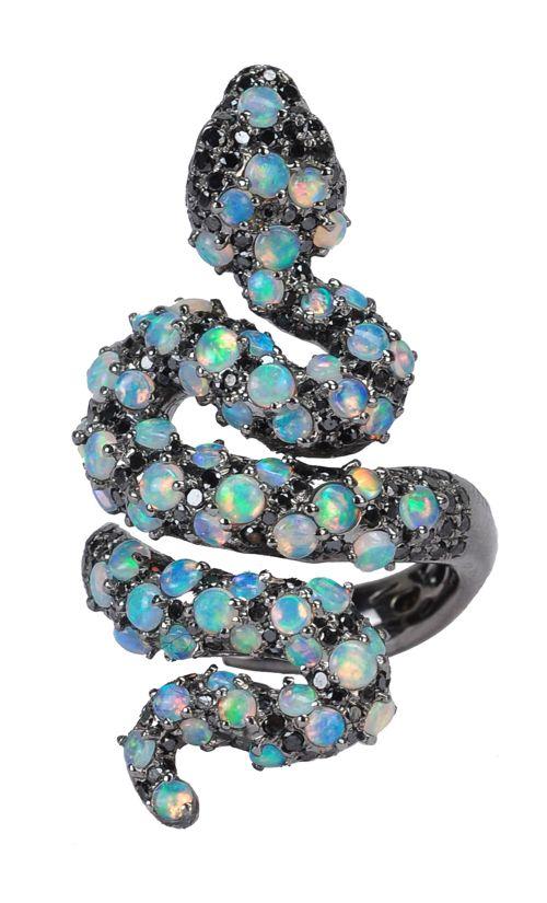 Wendy Yue Snake Ring