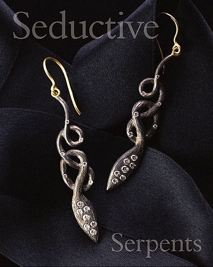 Laurie Kaiser Snake Earrings