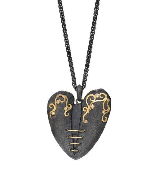 Alishan Mended Heart Pendant