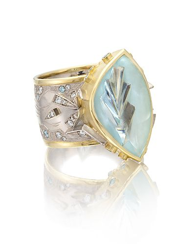 Cornelia Goldsmith Glacier Ring