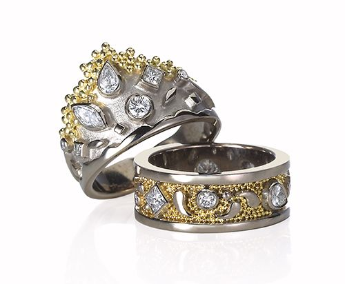 Cornelia Goldsmith Tiara RIngs