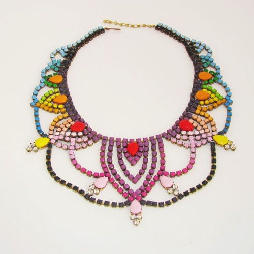 Shopbevel Galactic Queen Necklace