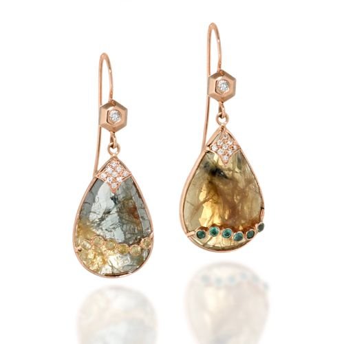 Las Vegas Sneak Peek at New Jewelry: ZAIKEN Slice of Life Earrings
