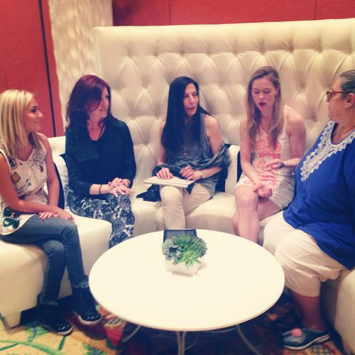 Jewelry Blogger Discussion at Couture