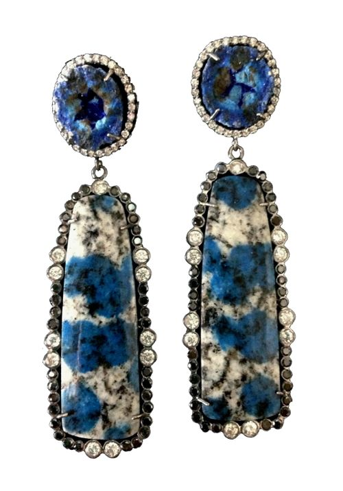 Colette Jewelry Blue Earrings 2013