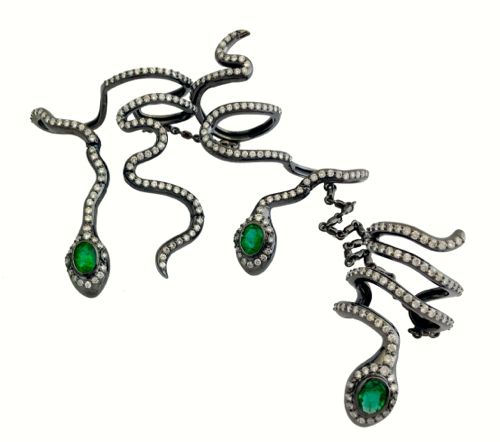 Colette Steckel Jewelry Couture Design Award Winner Snake Rings