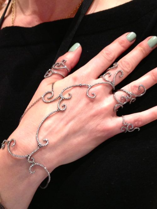 Colette Steckel hand jewelry