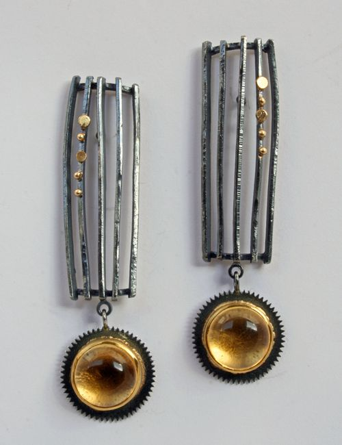 Sydney Lynch Stripe Earrings