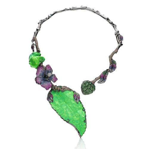 Wendy Yue The Leaf Necklace