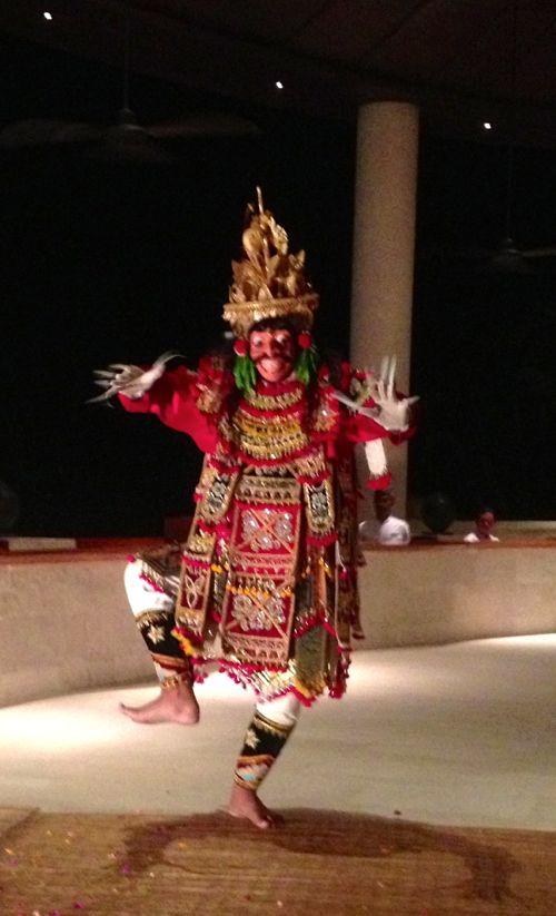 Bali dancer.