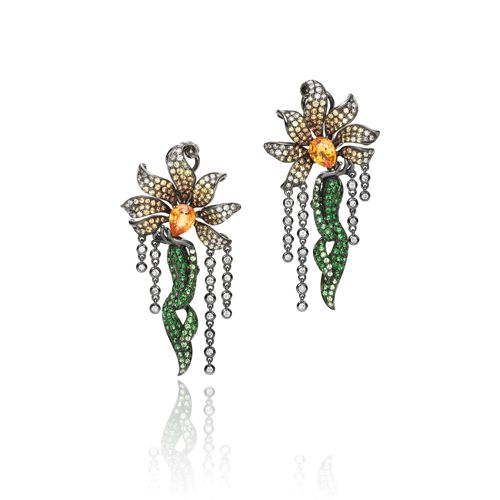 Wendy Yue Tree Fairy Earrings