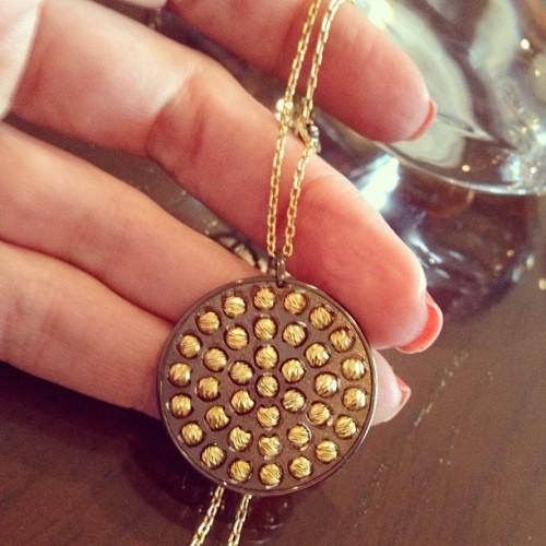 Athomie Jewelry Disc Pendant