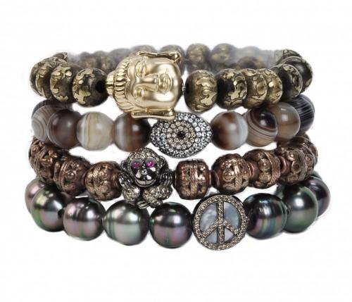 Borgioni Beaded Bracelets