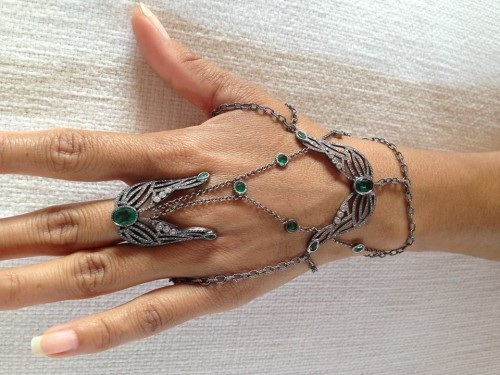 #idazzled: Colette Steckel Hand Jewelry