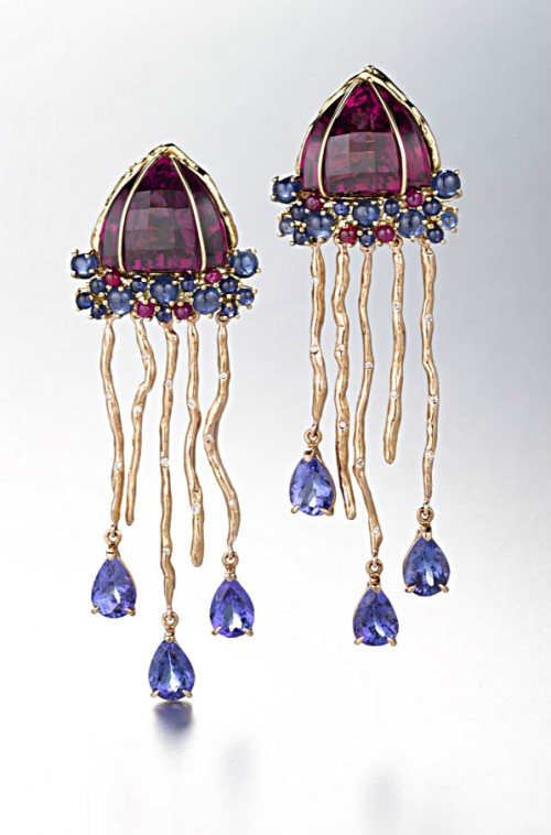 Daria de Koning Jellyfish Earrings