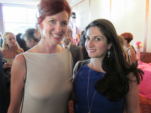 Malak Atut and Monica Stephenson at WJA Gala