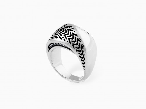 Walt Adler Twist Ring