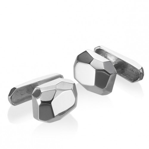 Jewelry Gift Ideas for Men: Delphine Leymarie Facets Cufflinks #HintingSeason